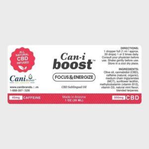 Cani-Boost CBD Oil Label