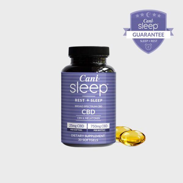 Cani-Sleep Broad Spectrum CBD Softgels