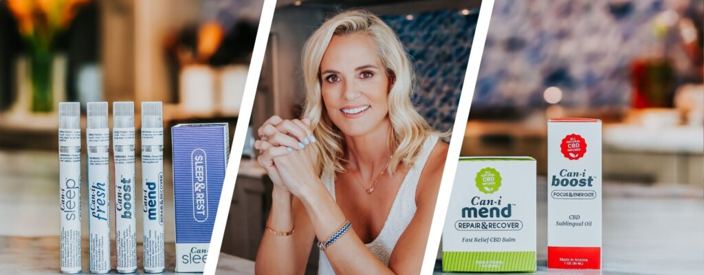 Dara Torres featured with CaniBrands products
