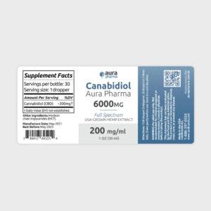 Aura 6000 Label